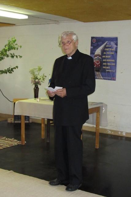 Juhlan avasi puheenjohtaja Esa Lipasti