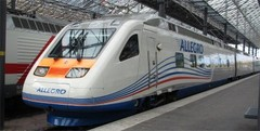 Allegro Helsingin rautatieasemalla