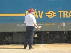 Junanlähettäjä työssään