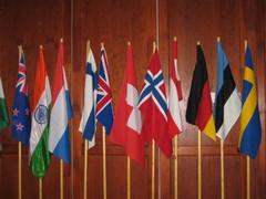 IRM:n jäsenmaiden liput