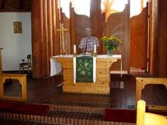 Reino esitti tervehdyksen ihan Oulu kirkon alttarilta