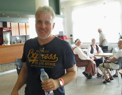 Ueli Berger kehoitti juomaan vettä