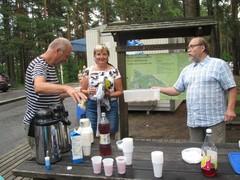 Pyynikillä kahvi maistui myös ohikulkijoille