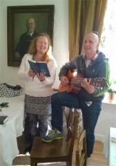 Kerttu-Leena ja Tapio huoehtivat musiikista