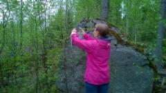 luontopolku kuppikivi