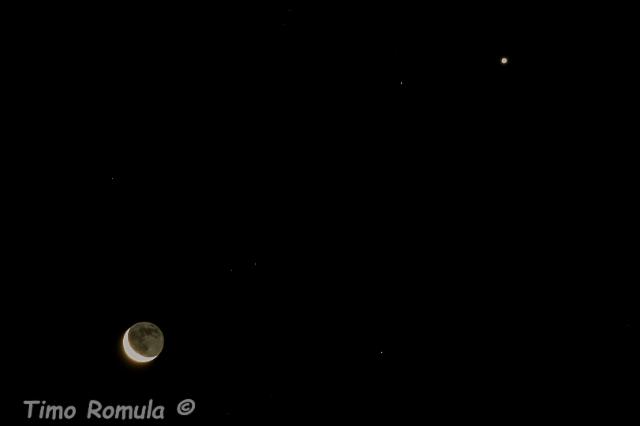 Venus ja Kuu