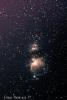 Messier 42 (Orionin sumu), 43, NGC2024(Flame Nebula), IC434(Horsehead Nebula)