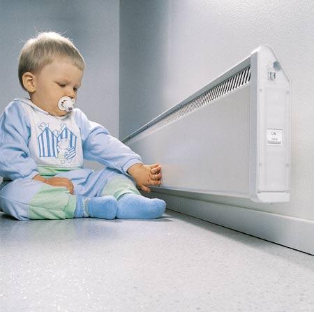 ENSTO lapsiturvallinen lämmitys