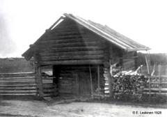 Palojärvi: Lupsakon aitta