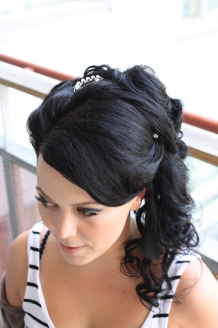 African American Bridal Hairstyles For Long Hiar With Veil