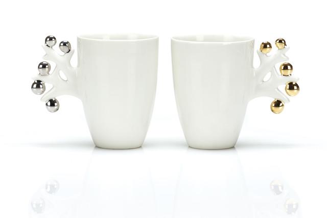 Platinamarja- ja Kultamarja | mukit | mugs | 3,8 dl