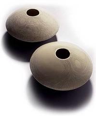Ufo | veistos | sculptore | fajanssi | halkaisija 33,0 cm