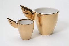 Kultainen Enkeli | Golden Angel | muki ja espresso | mug and espresso | 2,5 dl