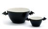 LEPAKKO |  BAT | tarjoilukulho ja annoskulho | serving bowl | | 3,0 l ja 3,0 dl