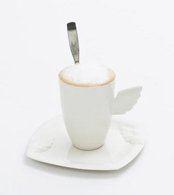 ENKELI | lautanen ja caffe latte muki | Angel | plate | mug