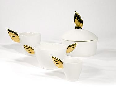 Kultasiipi | Golden Wing | muki | mug | espresso | au lait | kulho | rasia | box |