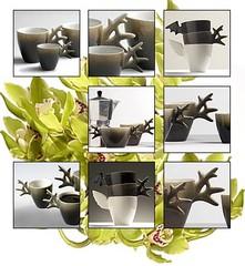 Poro | muki, espresso, au lait | Reindeer | mug, espresso, au lait
