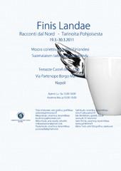 Finis Landae 2011 | näyttely | Napoli | juliste | poster