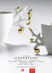 Sami Rinne esittää: Elämänpuuni | näyttely, 2008 | juliste | poster