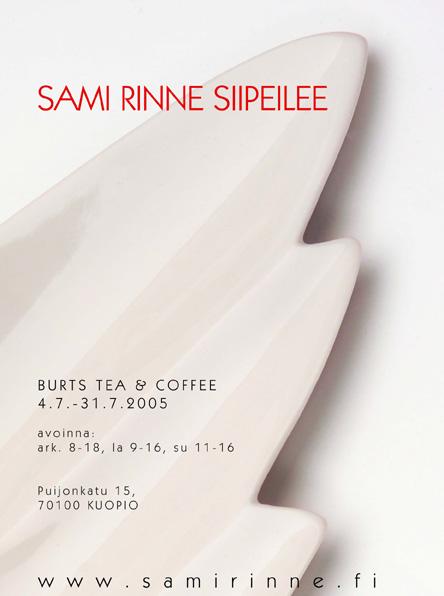 Sami Rinne Siipeilee | näyttely | juliste | poster