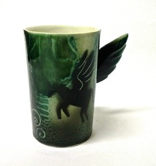 Yksisarvinen | muki | Unicorn | mug | porcelain