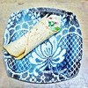 Pitsi | lautanen | Lace | plate |