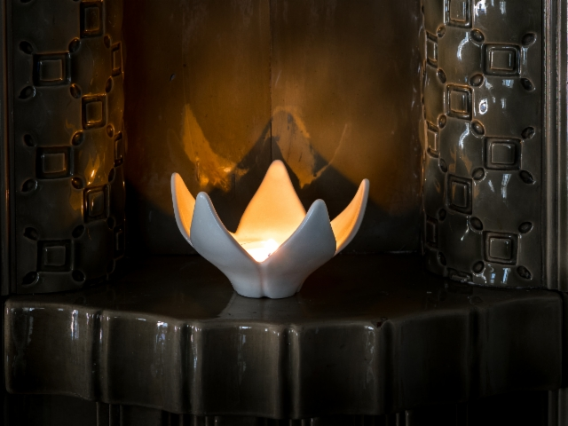 Kukka-tuikku | Flower votive | Flower tealight |
