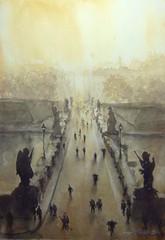 Hämyinen silta Rooma