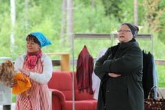 Talakoomummo ja kätilö Kerttu Koponen