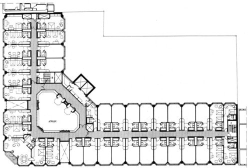 Hotel guest room floor plans floor plans for Hotel design layout