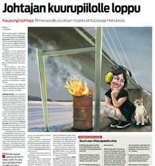 Etelä-Suomen Sanomat (Tita Rinnevaara) 17.1.2013