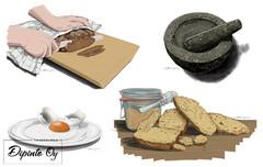 Bilder från brödboken (Maahenki), bild 1