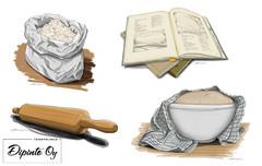 Bilder från brödboken (Maahenki), bild 2