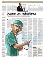 Etelä-Suomen Sanomat (Barack Obama) 7.11.2012