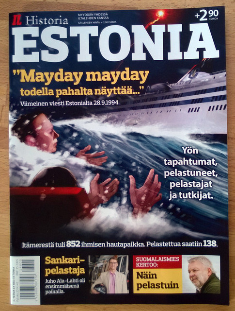 Iltalehti 28.8.2014, Estonia-bilagan