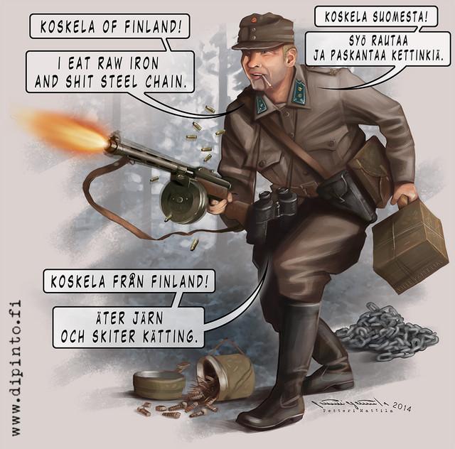 Okänd soldat - Vilho Koskela - Iltalehti 11/2014