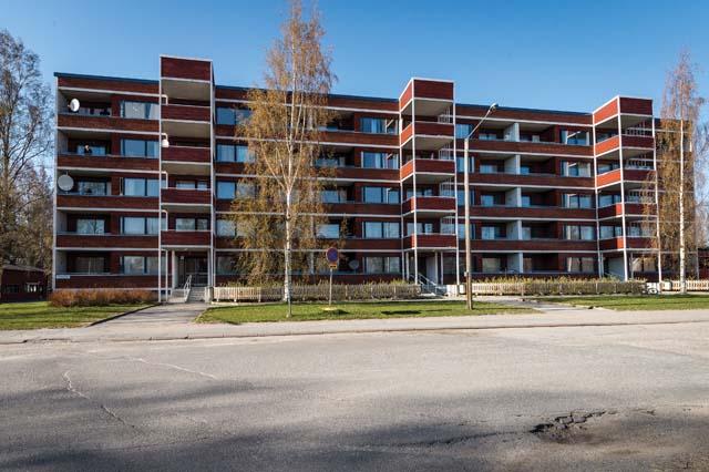 Vuokra-asuntoja Vaasan Kaupungille