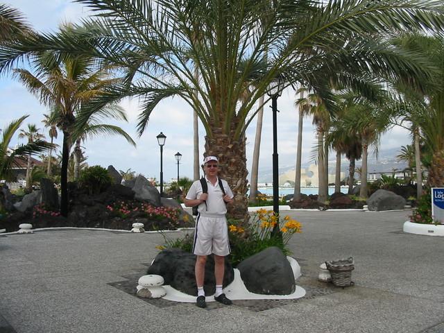 Santunnainen matkailija Casino-alueella