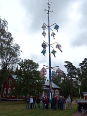 Juhannussalko/Midsommarstången