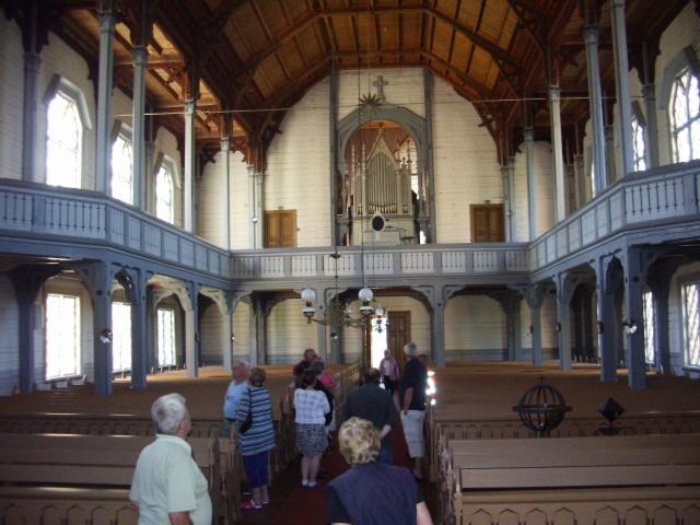 Luhangan kirkossa  I Luhanka kyrka