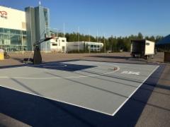 Suomen Koripalloliitto_FIBA 3x3 kenttä