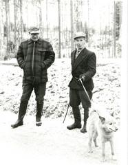 Karoniemessä vuonna 1963 presidentti Urho Kekkosen oppaana.