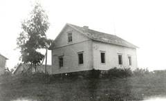 Simon koti Rautjärvellä sodan jälkeen.