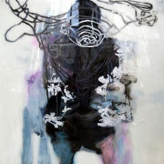 All the strength in me, v. 2013, öljy akryylilevylle, 150 x 150cm, 2280€, Elina Ruohonen