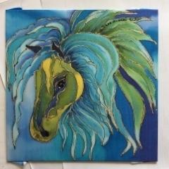 BLUISH HORSE