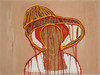 Sirpa Häkli, Taidehistorian naiskuvia: Sulkahattuinen nainen (de László) | Images of Women in Art History: Woman with a Plume Hat (de László), 2014