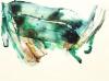 Sirpa Häkli, Waves of Colour: Viridian Green
