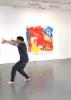 Sirpa Häkli, taiteilijatapaaminen & performanssi, Galleria G | Meet-the-Artist and Performance, Gallery G, 2019 (c)