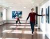 Sirpa Häklin taiteilijatapaaminen ja Kivi&Nosto -kollektiivin performanssi Teijon Masuunin galleriassa (4)