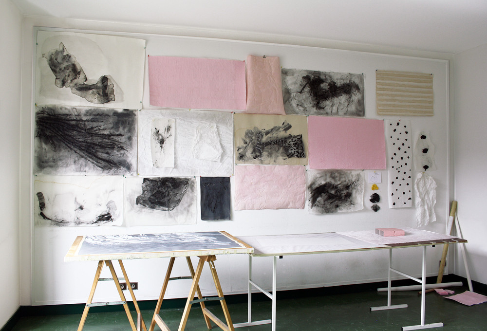 Sirpa Häkli, Work in Progress, July 2016, Cité Internationale des Arts Artists' Residency, Paris, France ©Photo: Sirpa Häkli 2015